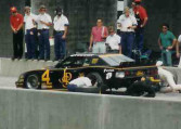 1989 Roush Racing, SCCA Trans Am Road Racing Series Chassis #009 pitstop