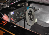 1989 Roush Racing, SCCA Trans Am Road Racing Series Chassis #009 steering wheel