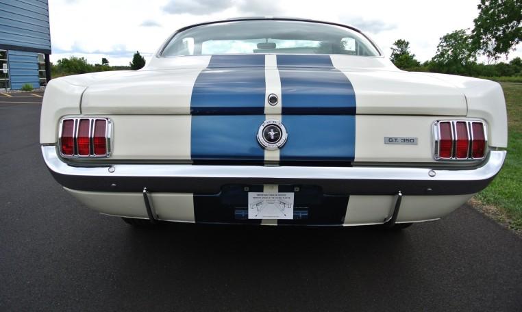 1965 Shelby GT350 rear
