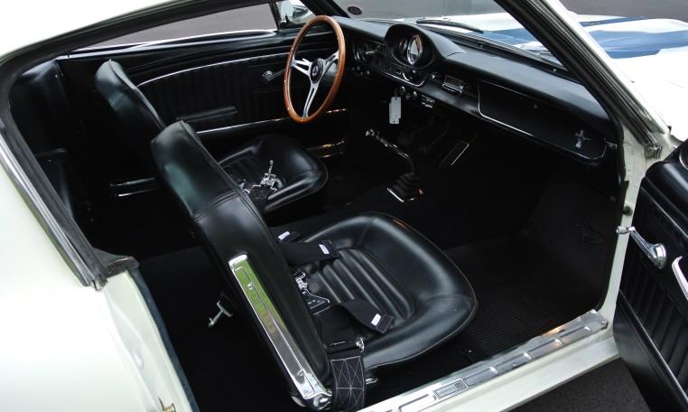 1965 Shelby GT350 interior
