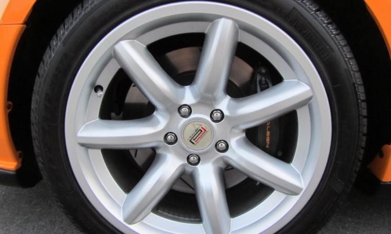 2007 Saleen Mustang Parnell Jones Edition tire
