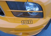 2007 Saleen Mustang Parnell Jones Edition headlight