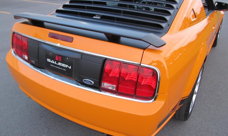 2007 Saleen Mustang Parnell Jones Edition rear