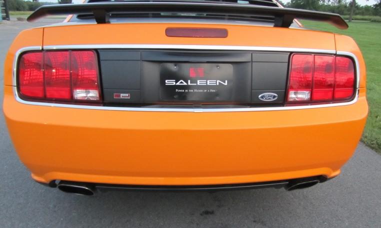 2007 Saleen Mustang Parnell Jones Edition rear
