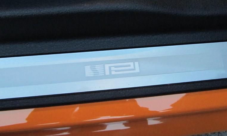2007 Saleen Mustang Parnell Jones Edition interior