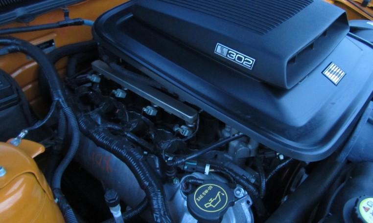 2007 Saleen Mustang Parnell Jones Edition engine