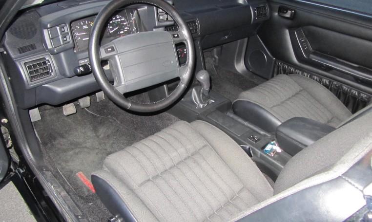1993 Ford Mustang SVT Cobra interior