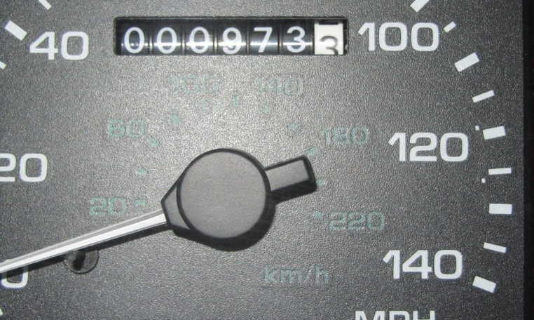 1993 Ford Mustang SVT Cobra mileage