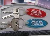 1993 Ford Mustang SVT Cobra keys