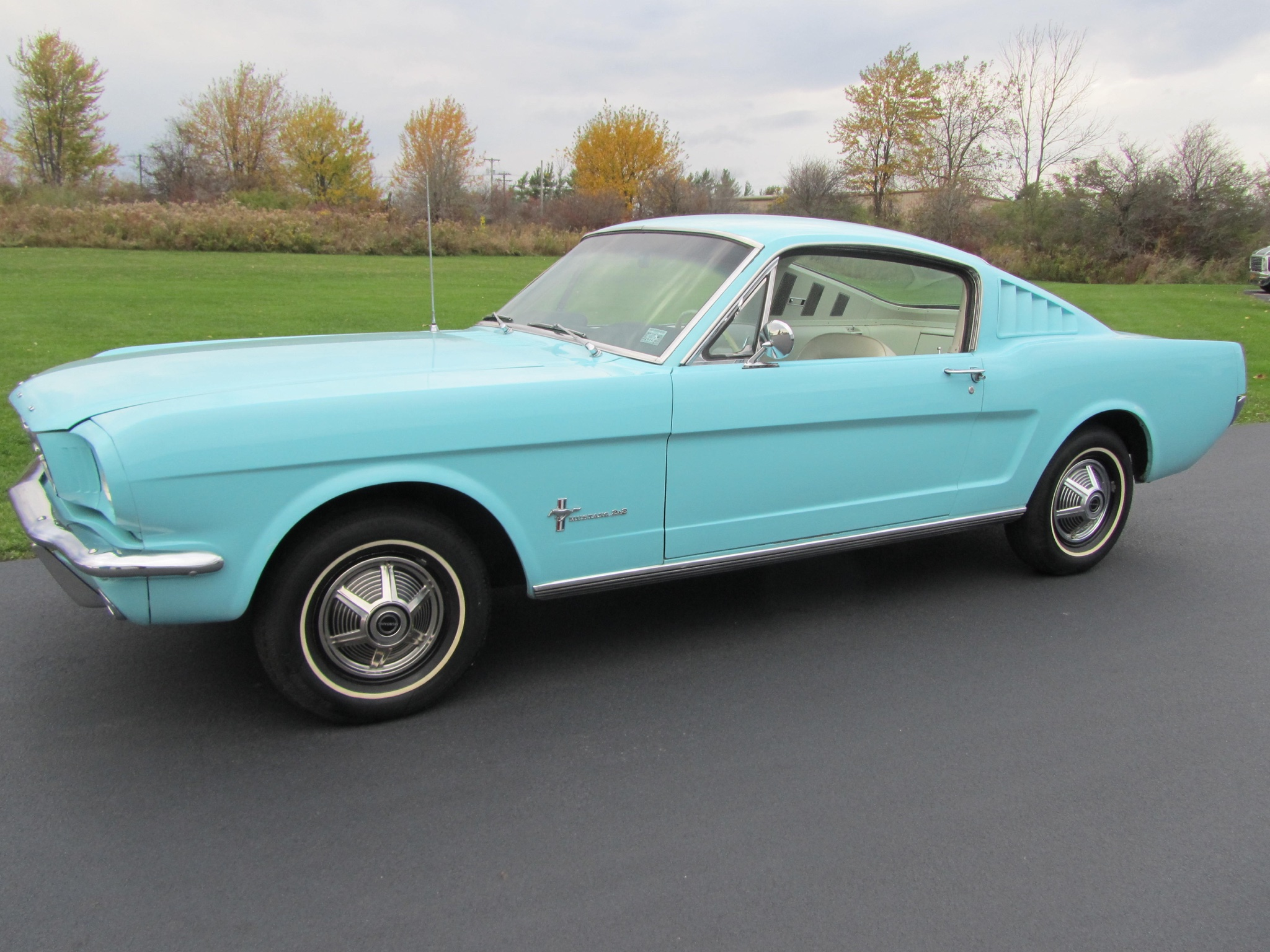 1965 ford mustang 2 2 fastback owned by fix motorsports