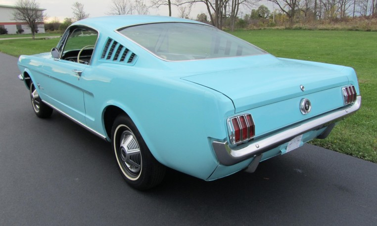 1965 Ford Mustang 2+2 Fastback driver side