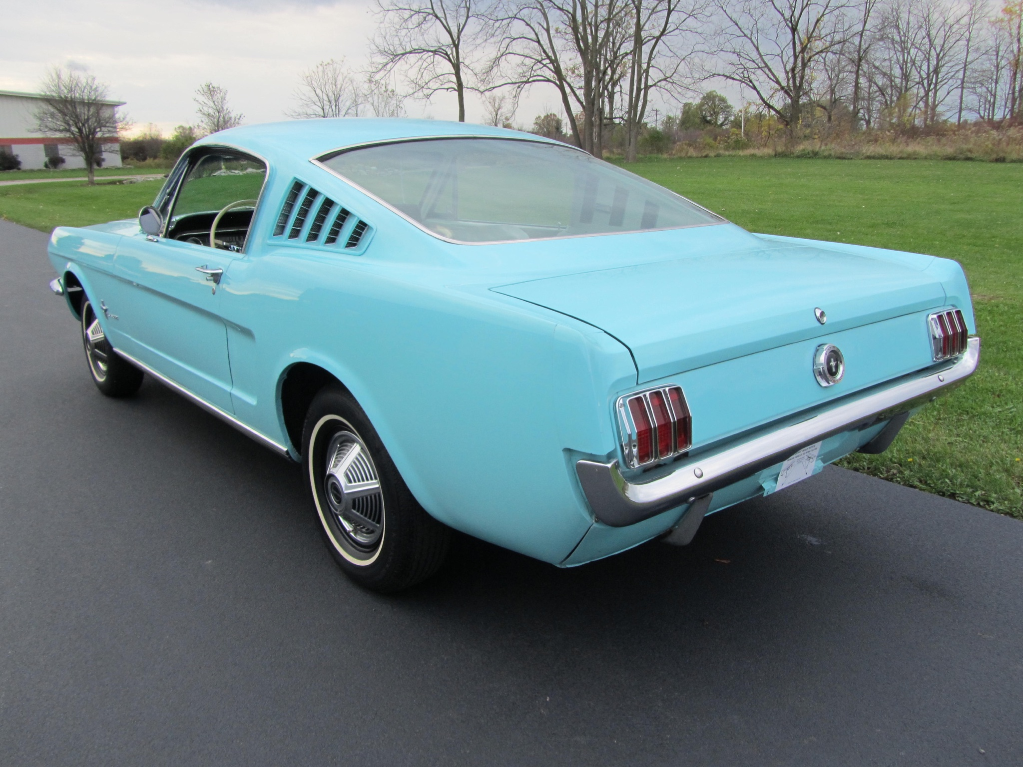 1965 ford mustang 2 2 fastback driver side