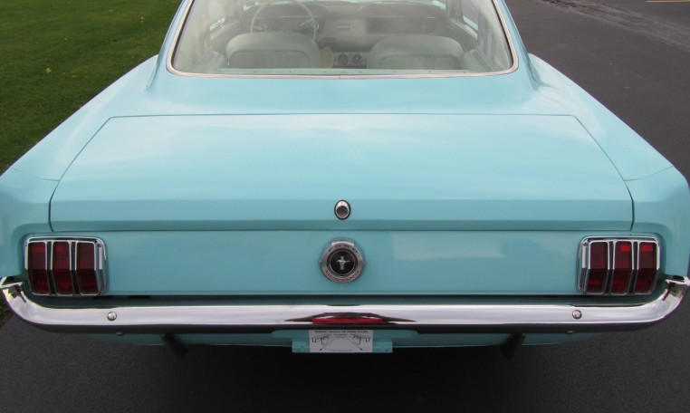 1965 Ford Mustang 2+2 Fastback taillights