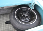 1965 Ford Mustang 2+2 Fastback spare tire