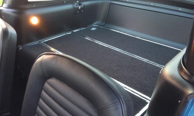 1966 Shelby GT350 interior