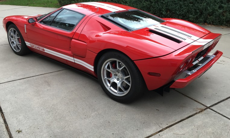 2006 Ford GT driver side