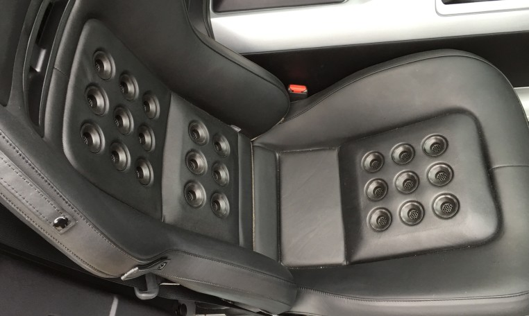 2006 Ford GT passenger seat