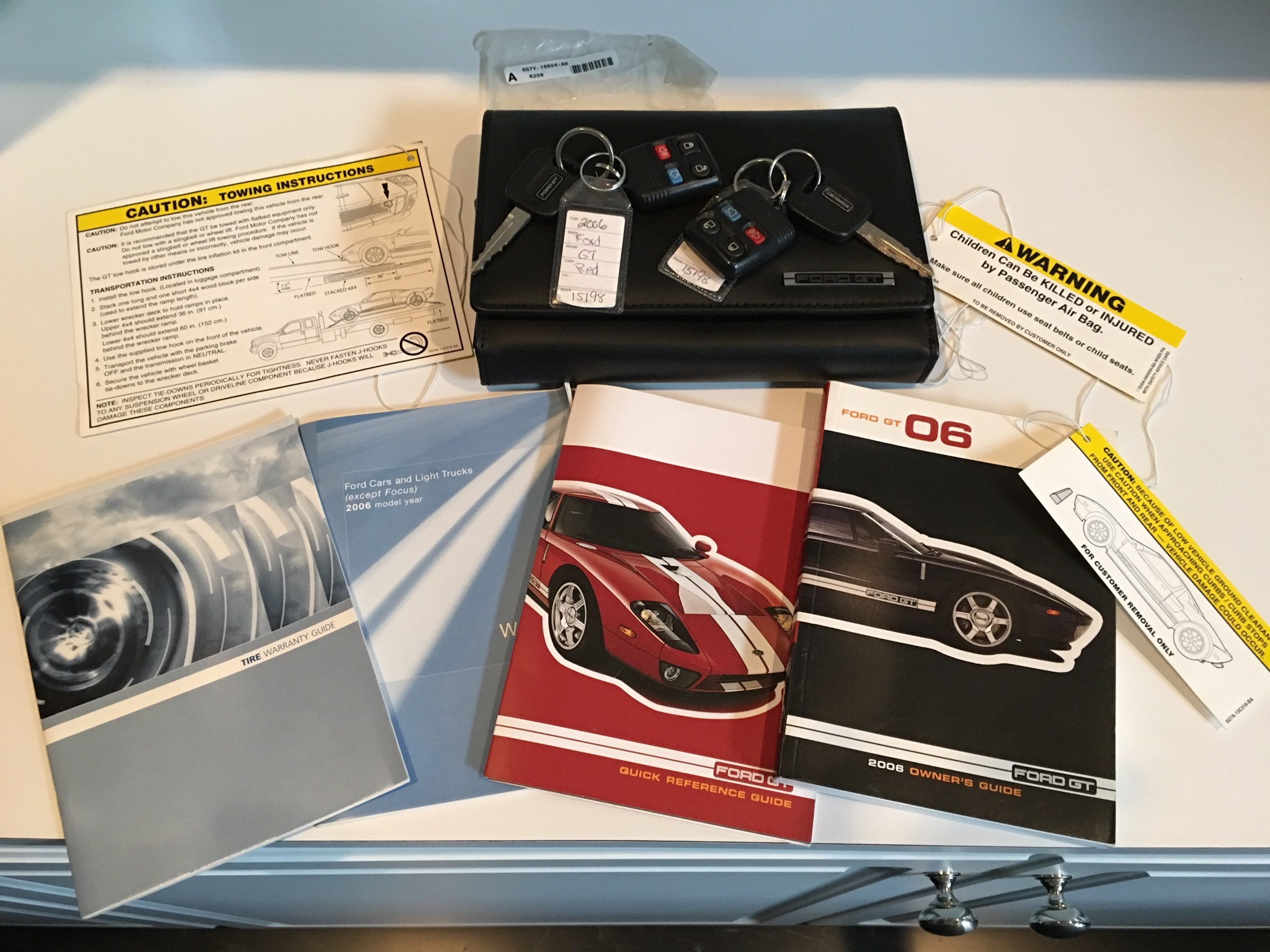 Ford Gt Keys And Guides