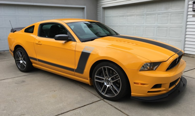 2013 Ford Boss 302 Laguna Seca owned by Fix Motorsports