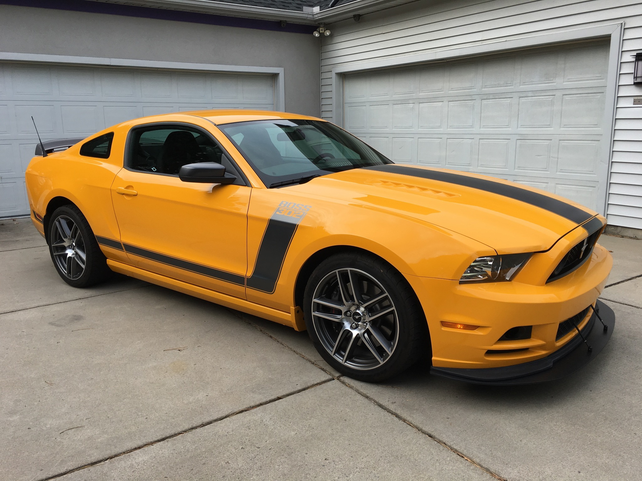 2013 Ford Boss 302 Laguna Seca Fix Motorsports
