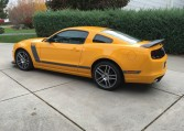2013 Ford Boss 302 Laguna driver side
