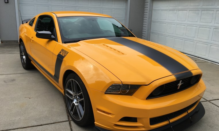 2013 Ford Boss 302 Laguna passenger side