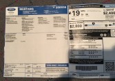 2013 Ford Boss 302 Laguna paperwork