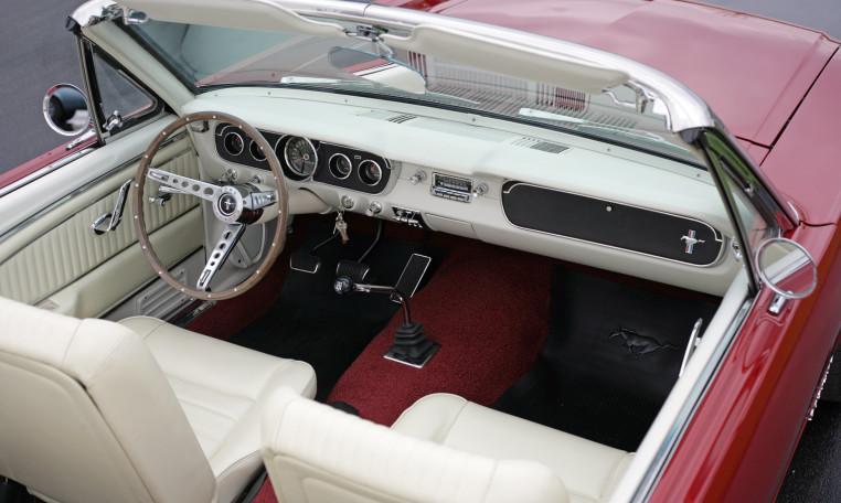 1966 Ford Mustang interior