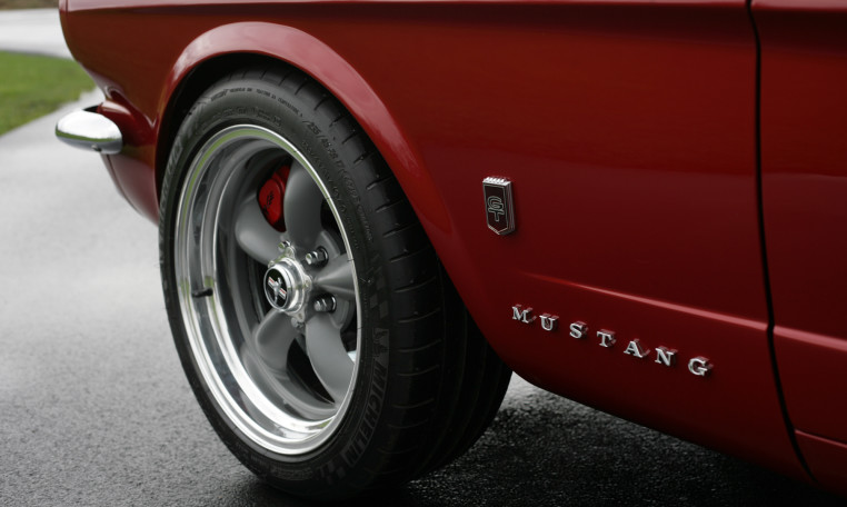 1966 Ford Mustang tire